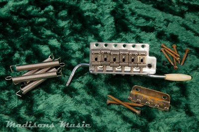 60's Era AGED Stratocaster Bridge Tremolo