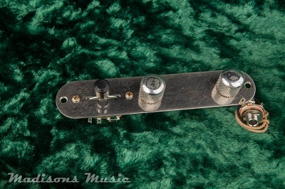 AGED 50's Era Wired Telecaster Control Plate